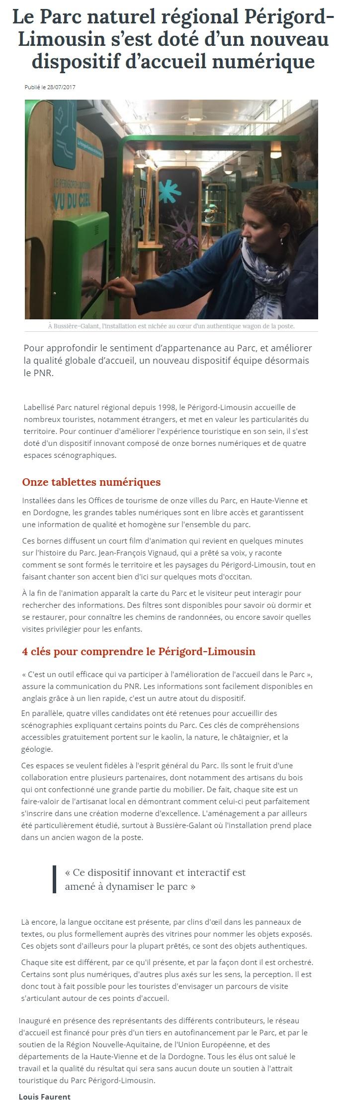 Louis Faurent Le Populaire 28 07 2017